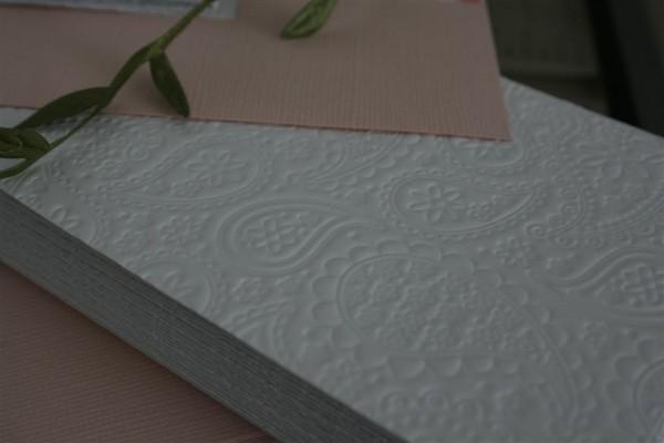 embossed paper