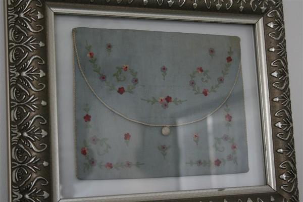 framed silk purse