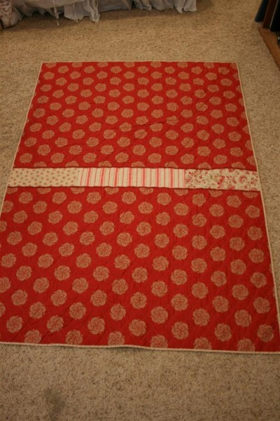 Rouenneries quilt back