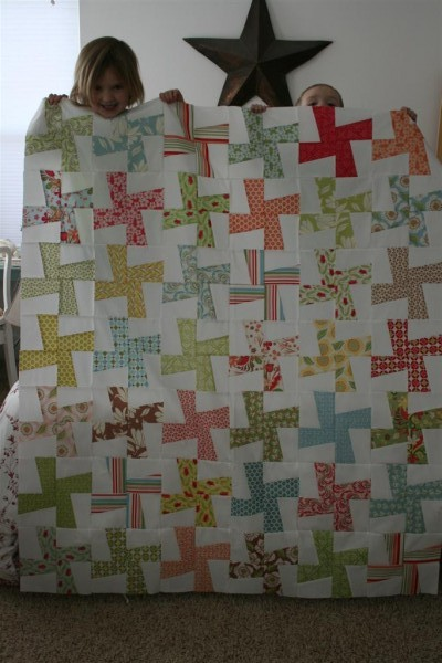 wild thing quilt top