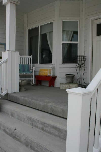 distant view of porch