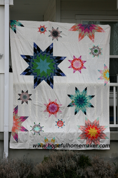 lone_star_party_quilt_top