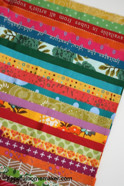 Color Stack Quilt Tutorial A Jelly Roll Quilt Pattern Hopeful
