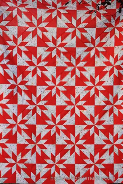 hunter's star pattern by Hopeful Homemaker