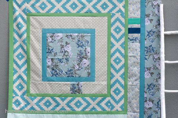 Till We Meet quilt top - Hopeful Homemaker