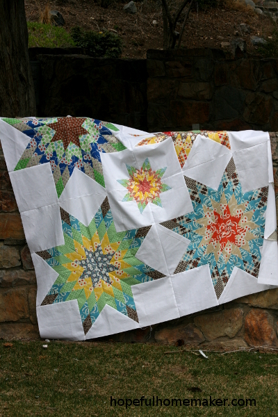 lone star quilt top
