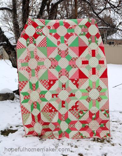 Prosper Christmas Quilt Hopeful Homemaker