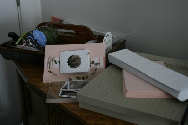 paper crafting supplies