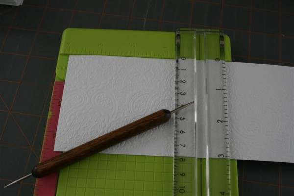 paper, paper cutter and embossing tool