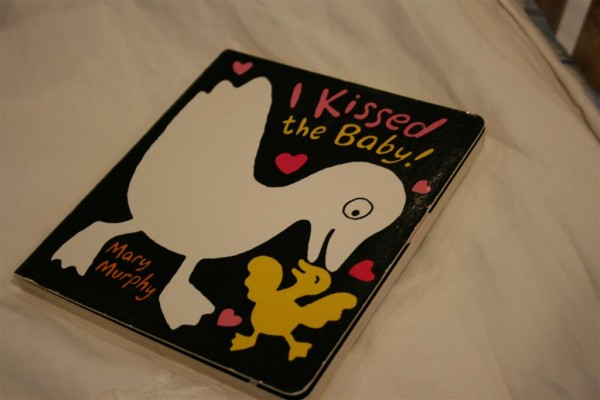 I Kissed the baby board book