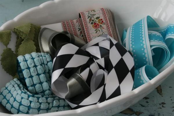 bowl of ribbon