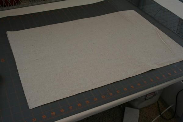 blank cotton fabric
