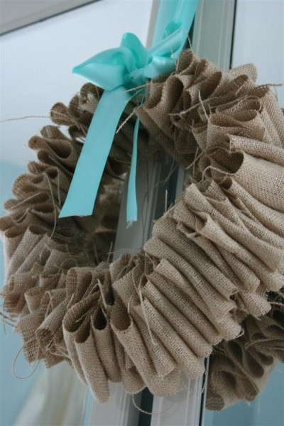 burlap wreath 3