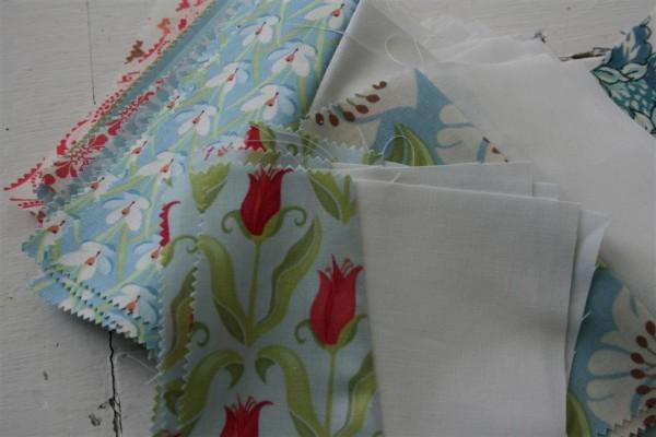 verna fabric quilt squares