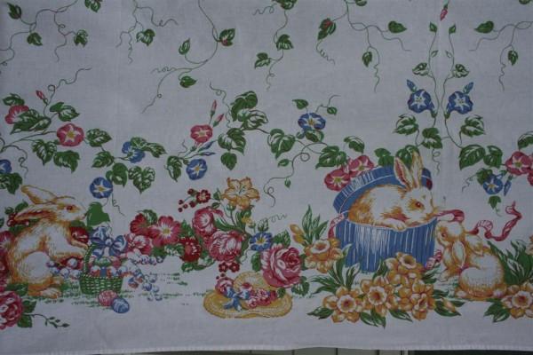 vintage Easter tablecloth 2