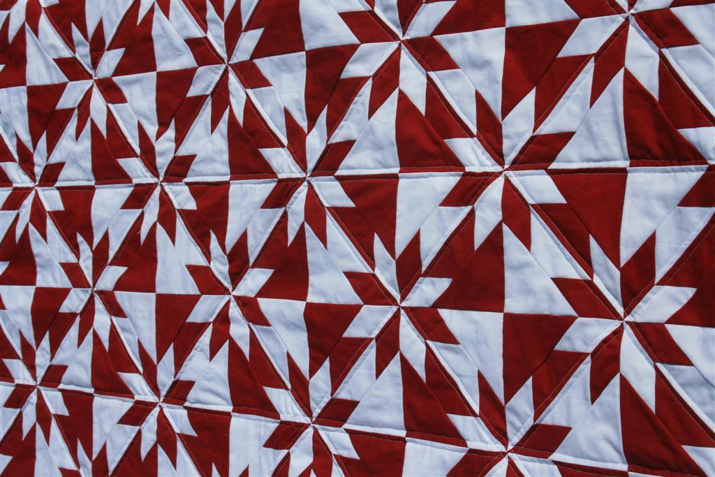 Hunter's Star Quilt - Hopeful Homemaker : red star quilt - Adamdwight.com